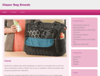 diaperbagbrands.com screenshot