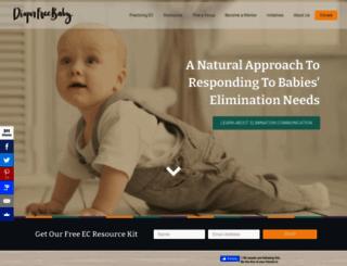 diaperfreebaby.org screenshot