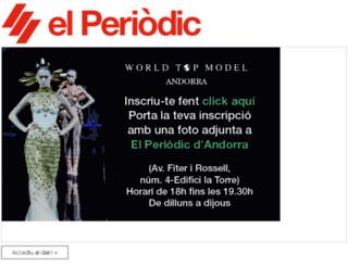diari.elperiodic.ad screenshot