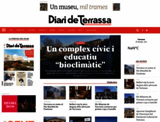 diarideterrassa.es screenshot