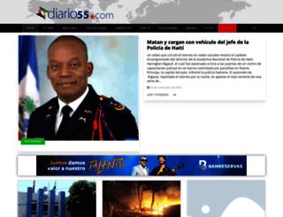 diario55.com screenshot