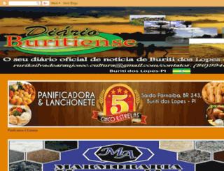 diarioburitienses.blogspot.com.br screenshot
