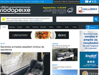 diariocacadorense.com.br screenshot