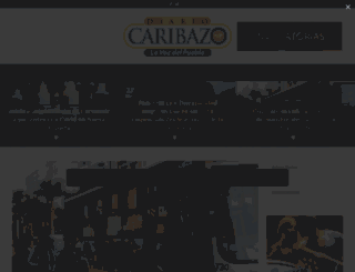 diariocaribazo.com screenshot