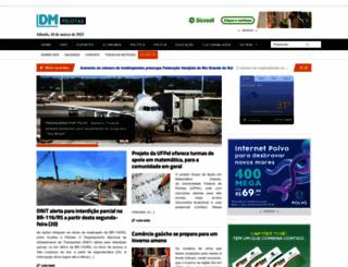 diariodamanhapelotas.com.br screenshot