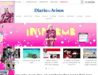 diariodeavisos.es screenshot