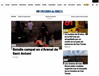 diariodeibiza.es screenshot