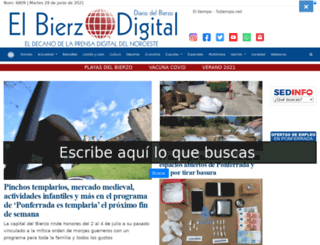 diariodelbierzo.com screenshot