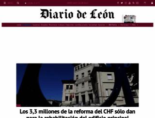 diariodeleon.es screenshot