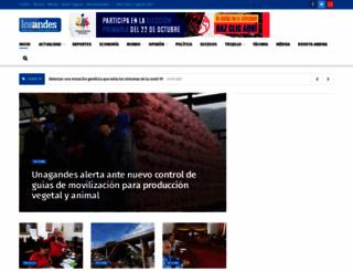 diariodelosandes.com screenshot
