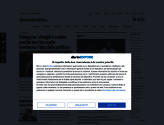 diariodelweb.it screenshot