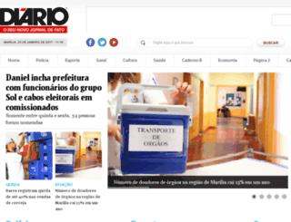 diariodemarilia.com.br screenshot