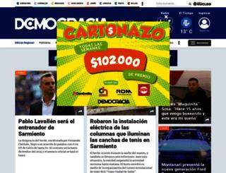 diariodemocracia.com screenshot