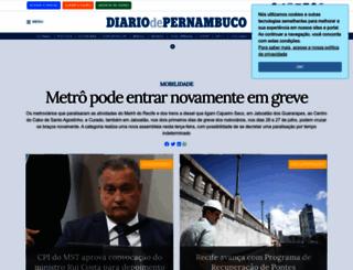 diariodepernambuco.com.br screenshot