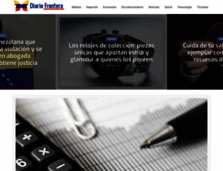 diariofrontera.com screenshot