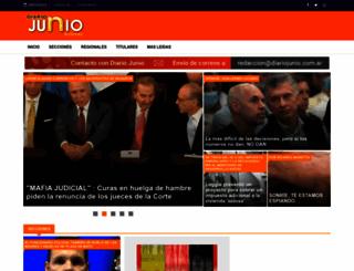 diariojunio.com.ar screenshot