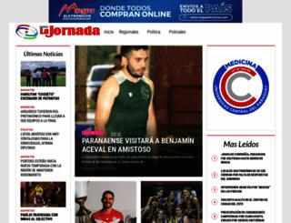 diariolajornada.com.py screenshot