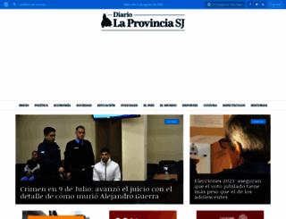 diariolaprovinciasj.com screenshot