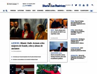 diariolasamericas.com screenshot