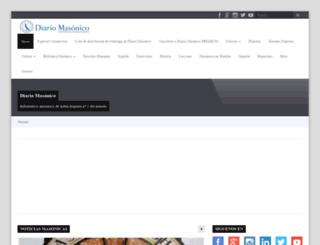 diariomasonico.com screenshot