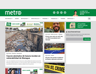 diariometro.com.ni screenshot