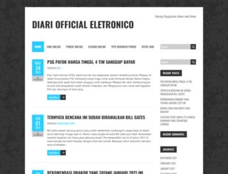diariooficialeletronico.org screenshot