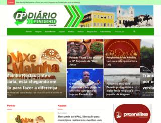 diariopenedense.com.br screenshot