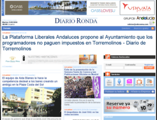 diarioronda.com screenshot