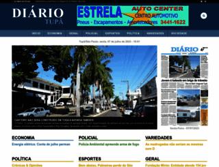 diariotupa.com.br screenshot