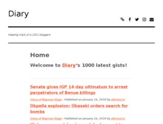 diary.com.ng screenshot