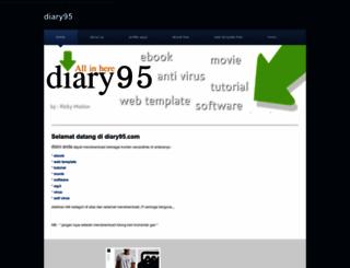 diary95.weebly.com screenshot