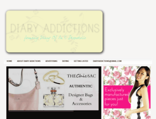 diaryaddictions.blogspot.com screenshot