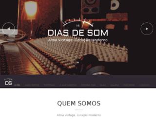 diasdesom.com.br screenshot