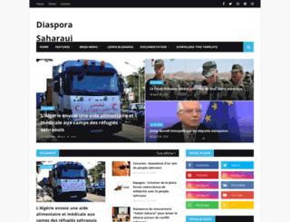 diasporasaharaui.blogspot.de screenshot
