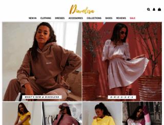 diavolesa.com screenshot