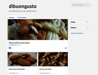 dibuongusto.blogspot.com screenshot