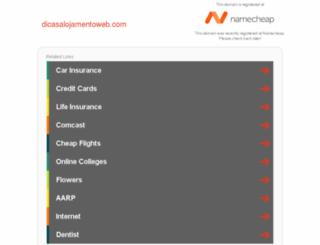 dicasalojamentoweb.com screenshot
