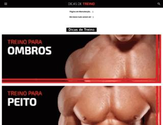 dicasdetreino.com.br screenshot