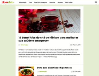 dicasdieta.com.br screenshot