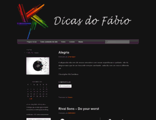 dicasdofabio.wordpress.com screenshot