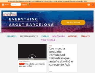 diccionario.terra.com.ar screenshot