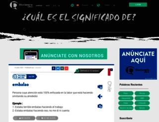 diccionariolibre.com screenshot