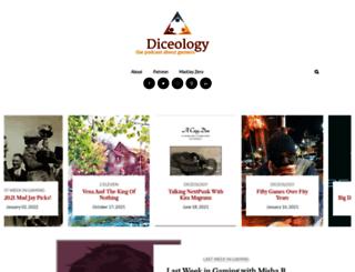 diceology.com screenshot