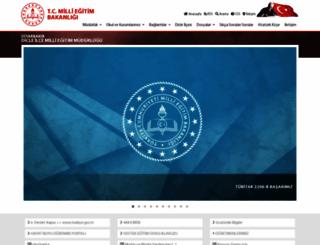 dicle.meb.gov.tr screenshot