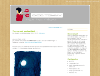 dico.tommy.free.fr screenshot