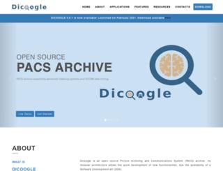 dicoogle.com screenshot