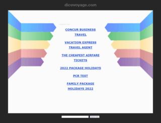 dicovoyage.com screenshot
