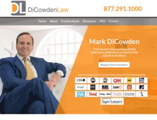 dicowdenlaw.com screenshot