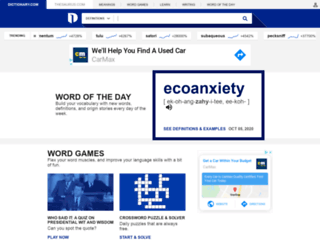 dictionary.reference.com screenshot