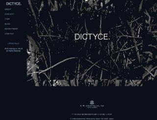 dictyce.com screenshot